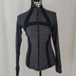 Lululemon athletica full zip yoga jacket 8